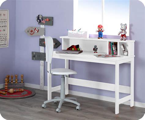 bureau blanc enfant comment meubler une chambre ado d 233 couvrez nos conseils