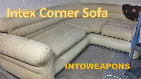 Intex Sofa Uk by Intex Corner Sofa Review Budget