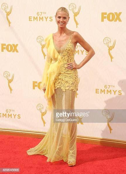 Heidi Klum Arrives The Annual Primetime Emmy