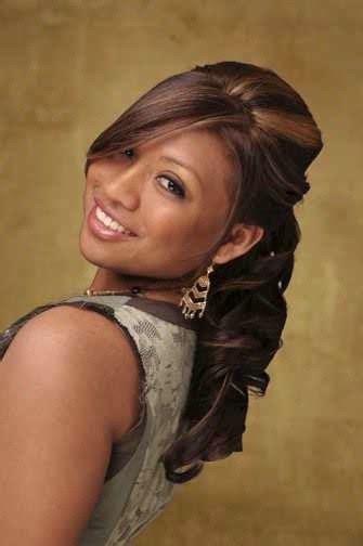Black Half Hairstyles by American Wedding Hairstyles Hairdos