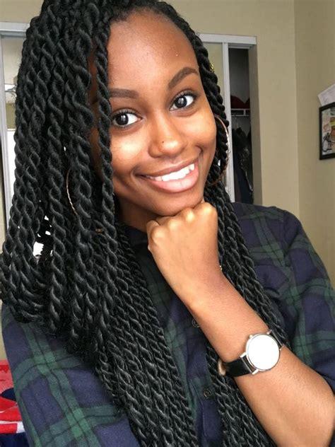 Medium Twist Hairstyles by Best Senegalese Twist Hairstyles Ideas For Trending