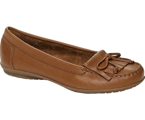 hush puppies ceil mocc womens slip on leather tassle loafers ebay