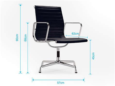 chaise visiteur ea108 bleu ciel