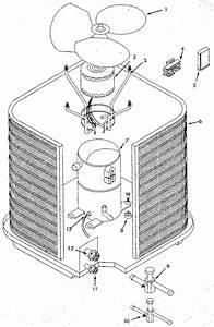 Icp Model Ca5036vkb1 Air Heat Pump Outside