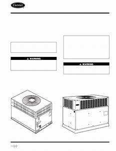 Carrier 48gs User U0026 39 S Manual