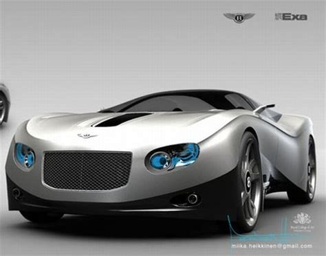 future bentley future transportation bentley ten11 futuristic car by
