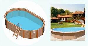 Piscine Hors Sol Composite : piscine ovale piscine en bois composite ~ Dode.kayakingforconservation.com Idées de Décoration