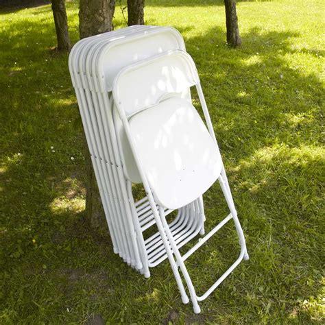 chaise plastique blanche chaise pliante plastique blanche pas cher mobeventpro