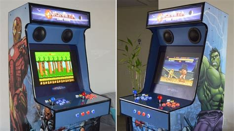 Diy Arcade Cabinet Raspberry Pi by Diy Arcade Cabinet Made With Raspberry Pi Htxt