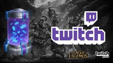 league  legends  twitch prime loot