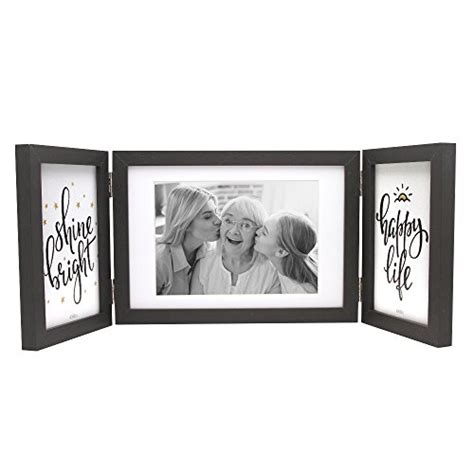 Desk Collage Frame by Afuly Three Picture Frame 4x6 And 5x7 Black