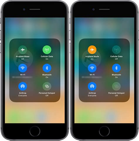 airplane mode iphone new in ios 11 airplane mode no longer turns wifi or
