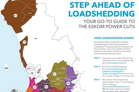 New Cape Town Load Shedding Schedule