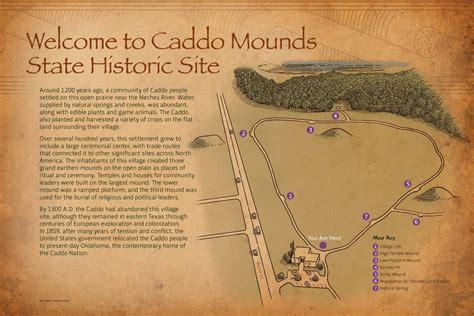 custom  interpretative exhibit caddo mounds
