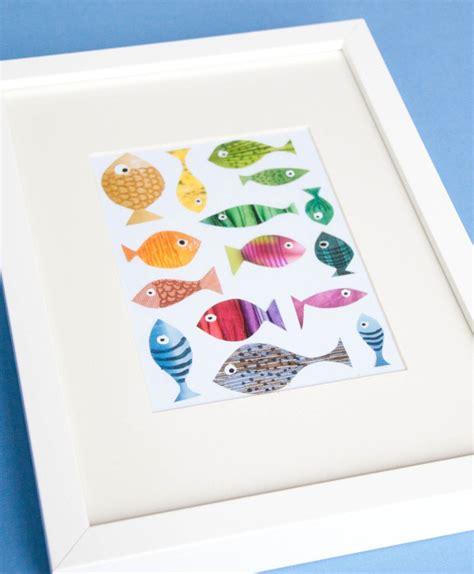Kinderzimmer Deko Augen by Fische Basteln Mit Kindern Fische Basteln Kinderzimmer