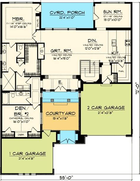 big room ideas plan 89823ah timeless tuscan with courtyard luxury houses