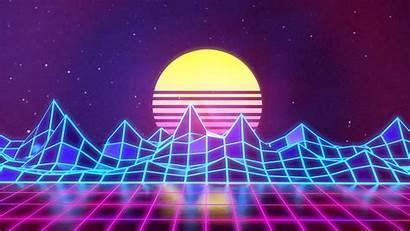 80s Neon Wallpapers Aesthetic Retrowave Wallpapersafari Wallpaperplay