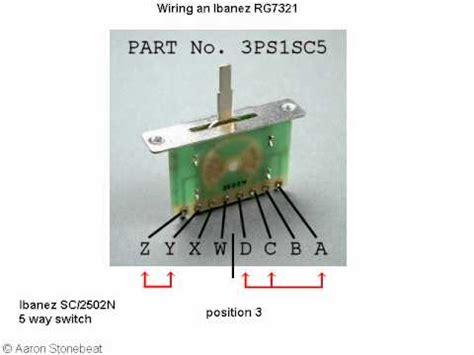 Basic Guitar Electronics Xvi Wiring Ibanez