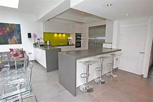 Kitchen Peninsula By LWK Kitchens London - Modern