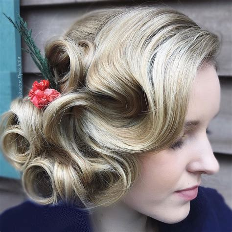 Finger Wave Updo Hairstyles by 13 Finger Wave Hairstyles You Will Want To Copy
