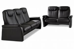 Sofa 3 2 1 Mit Schlaffunktion : leder garnitur 3 2 mit sitzverstellung und schlaffunktion schwarz sofas zum halben preis ~ Indierocktalk.com Haus und Dekorationen