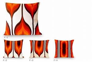 Modern Orange Pillow : Lebello com
