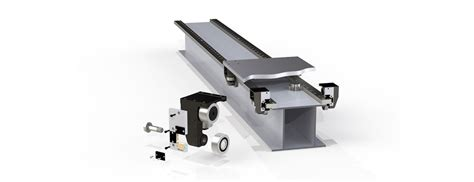 mhd track roller linear motion system extremely heavy