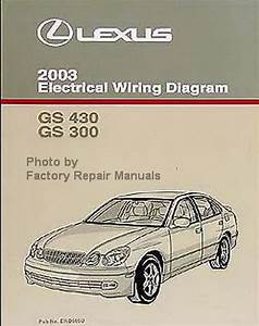 2003 Lexus Gs430  U0026 Gs300 Electrical Wiring Diagrams