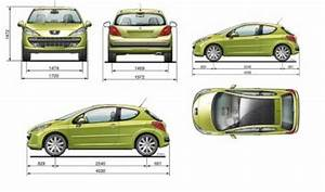 Dimension Peugeot 107 : 207 dimension peugeot 207 ~ Maxctalentgroup.com Avis de Voitures