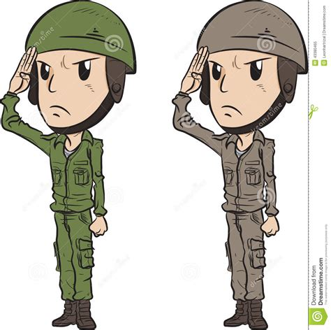 Soldier Clipart Army Soldier Saluting Clipart Www Pixshark Images