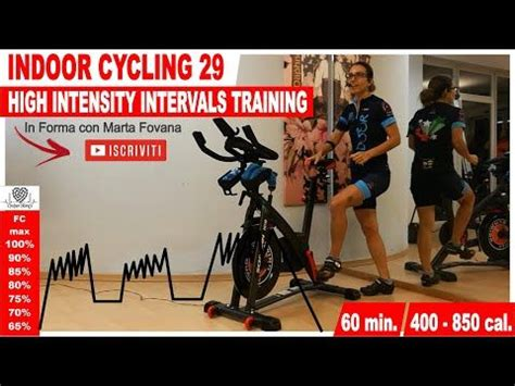 Indoor Cycling Workout - HIIT High Intensity Intervals ...