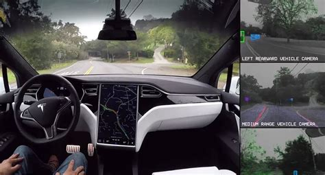 Tesla Autopilot 2019 by Tesla Demonstrates What Its Self Driving See
