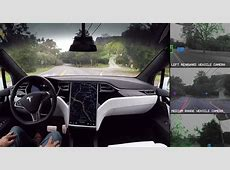 Tesla demonstrates what its selfdriving cars 'see'