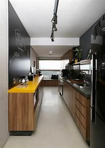 1001 idees pour une petite cuisine equipee des With petite cuisine en longueur