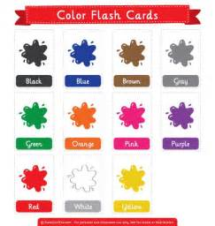 free printable color flash cards the pdf at http
