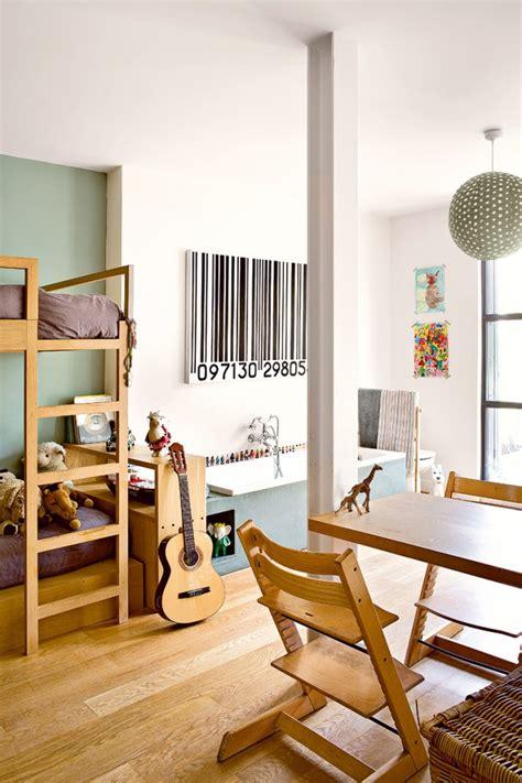las habitaciones juveniles de una paisajista parisina en