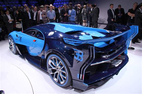 2015 Bugatti Vision Gran Turismo  Bugatti Supercarsnet