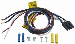 2016 Toyota Highlander Pigtail Wiring Harness For Tekonsha