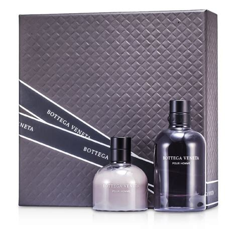 bottega veneta pour homme coffret eau de toilette spray 90ml after shave balm 100ml 2pcs