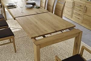 Küchentisch Klein Ausziehbar : massivholz esstisch k chentisch 150 230x95 cm eiche massiv ge lt mit innenliegender ~ Indierocktalk.com Haus und Dekorationen