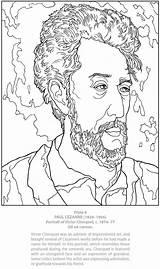 Coloring Dover Cezanne Paul Publications Doverpublications Boyama Masterworks Sanat Kitapları Welcome Samples Own Adult Vincent Aktivite Portrait Artist sketch template