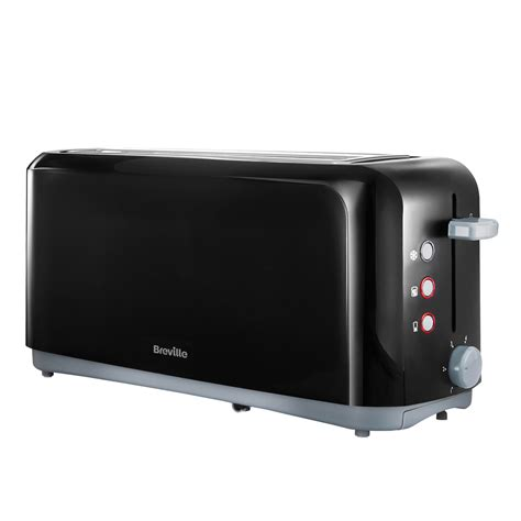 Slice Toaster by Breville Black Slot 4 Slice Toaster Vtt233