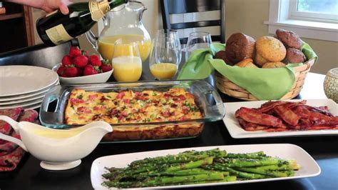 holiday brunch easy  elegant christmas breakfast