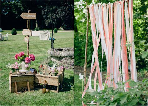 mariage champetre chic paris ceremonie laique chateau bois
