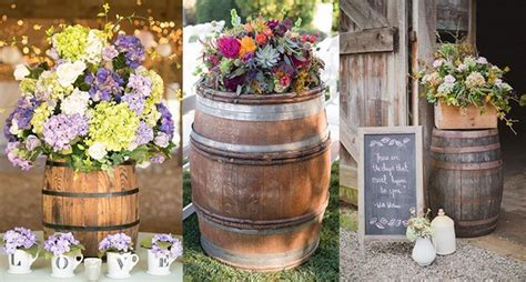 60 Rustic Country Wine Barrel Wedding Ideas Hi Miss Puff