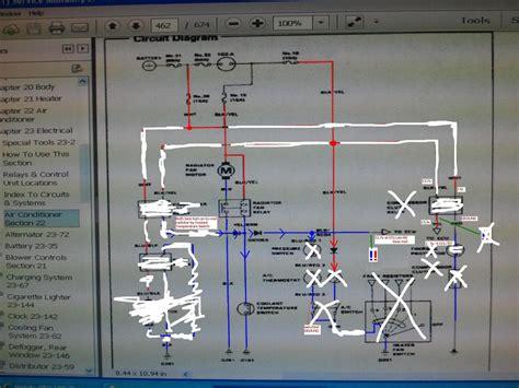 Crx Radiator Fan Relay Wiring Help Pics