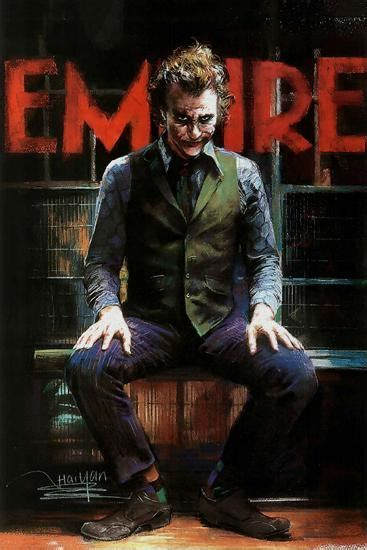 dark knight   joker sitting poster posters