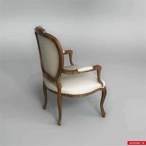 classic chair 004 3d model max obj fbx cgtrader