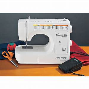Euro Pro U2122 Deluxe Denim And Silk Sewing Machine