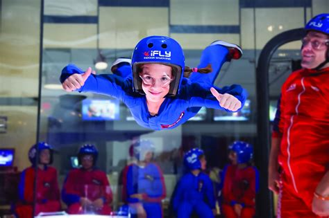 ifly lincoln park indoor skydiving  chicago kids